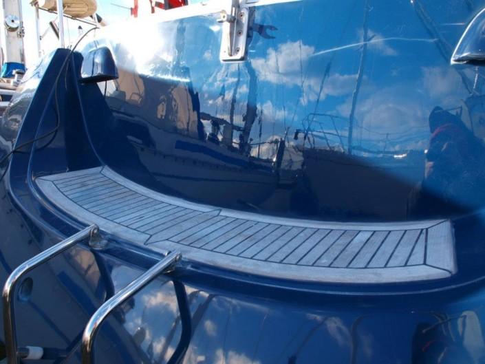Boot poetsen en romp polijsten door YachtcleanerY
