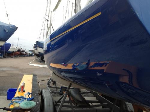 Boot poetsen YachtcleanerY