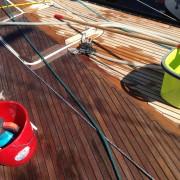 Teakreiniging, teak reiniging, YachtcleanerY